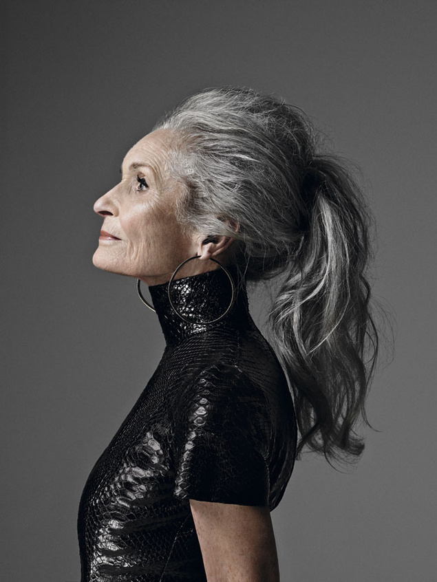 Daphne Selfe, 86 años, top model