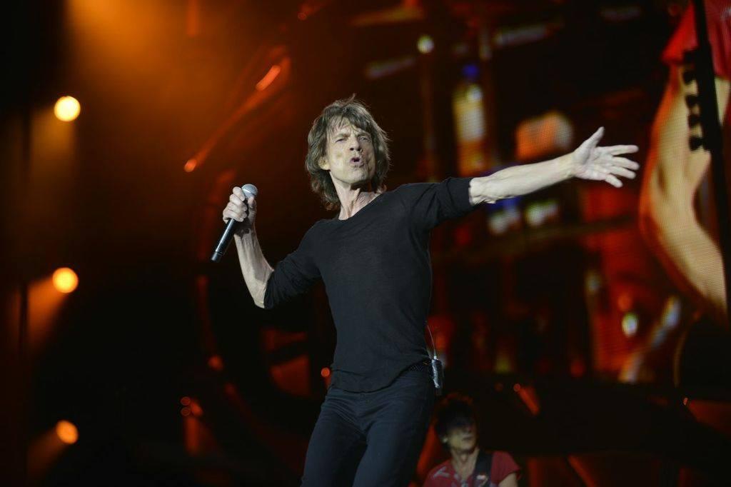 Mick Jagger,  70 años, músico