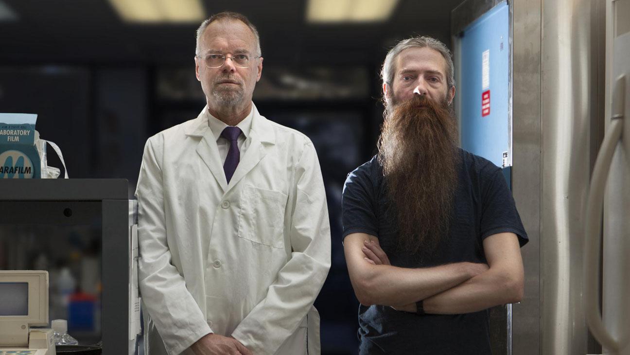 Bill Andrews y Aubrey de Grey, biogerontólogos