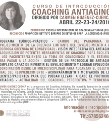 Curso de Introducción al Coaching Antiaging – abril 2016