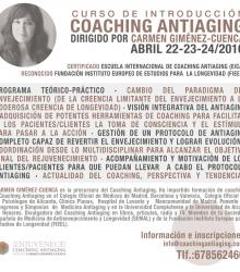 Curso de Introducción al Coaching Antiaging – abril 2016