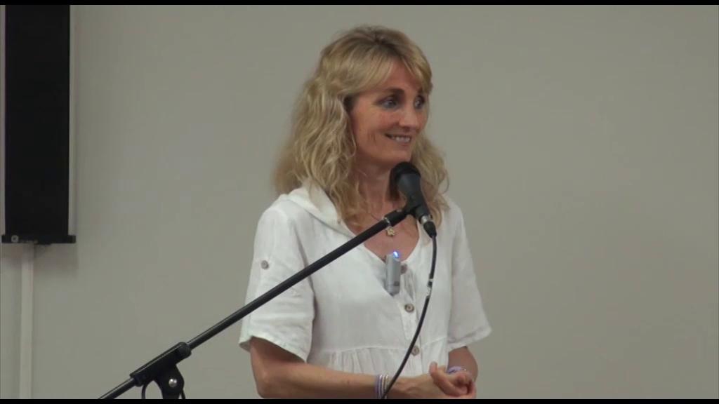 Susan Powell, habló el papel de la consciencia en la salud y el bienestar