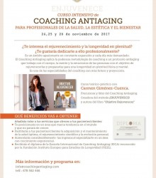 Curso intensivo de formación en Coaching Antiaging