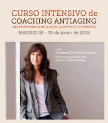 PRÓXIMO CURSO INTENSIVO DE COACHING ANTIAGING